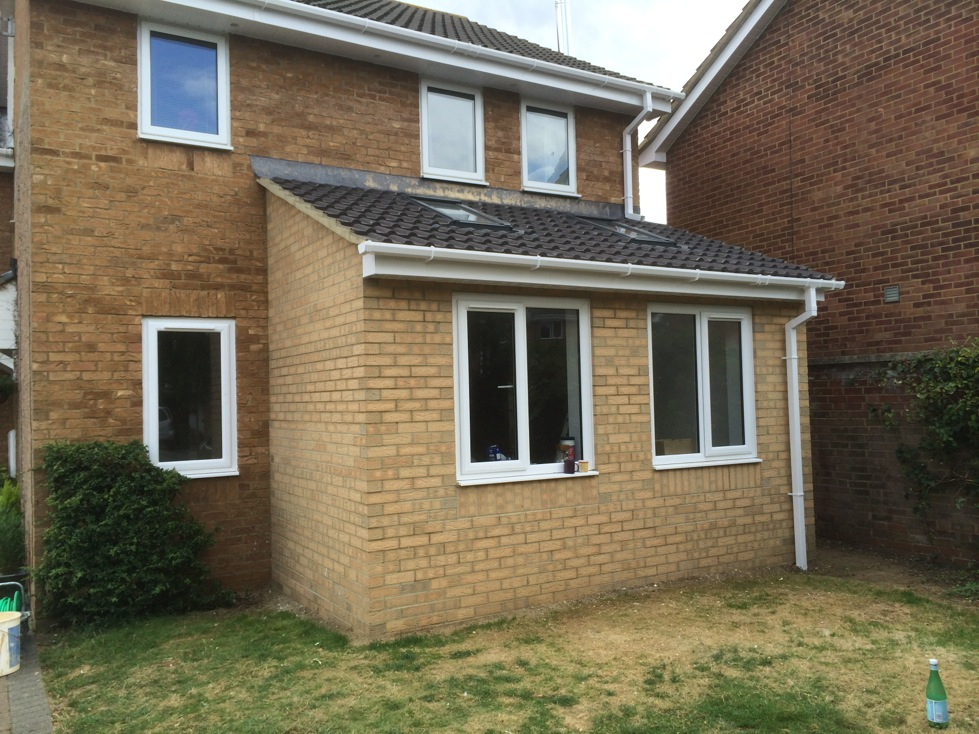 Single Storey House Extension in Newport Pagnell
