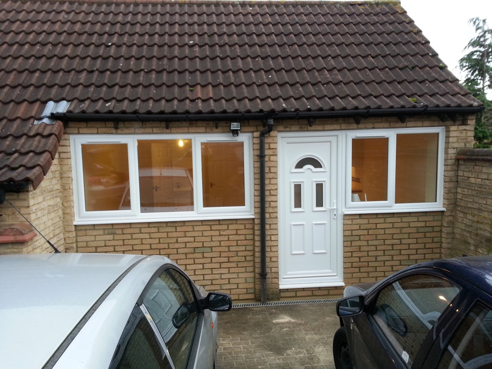 Double Garage Conversion in Fishermead