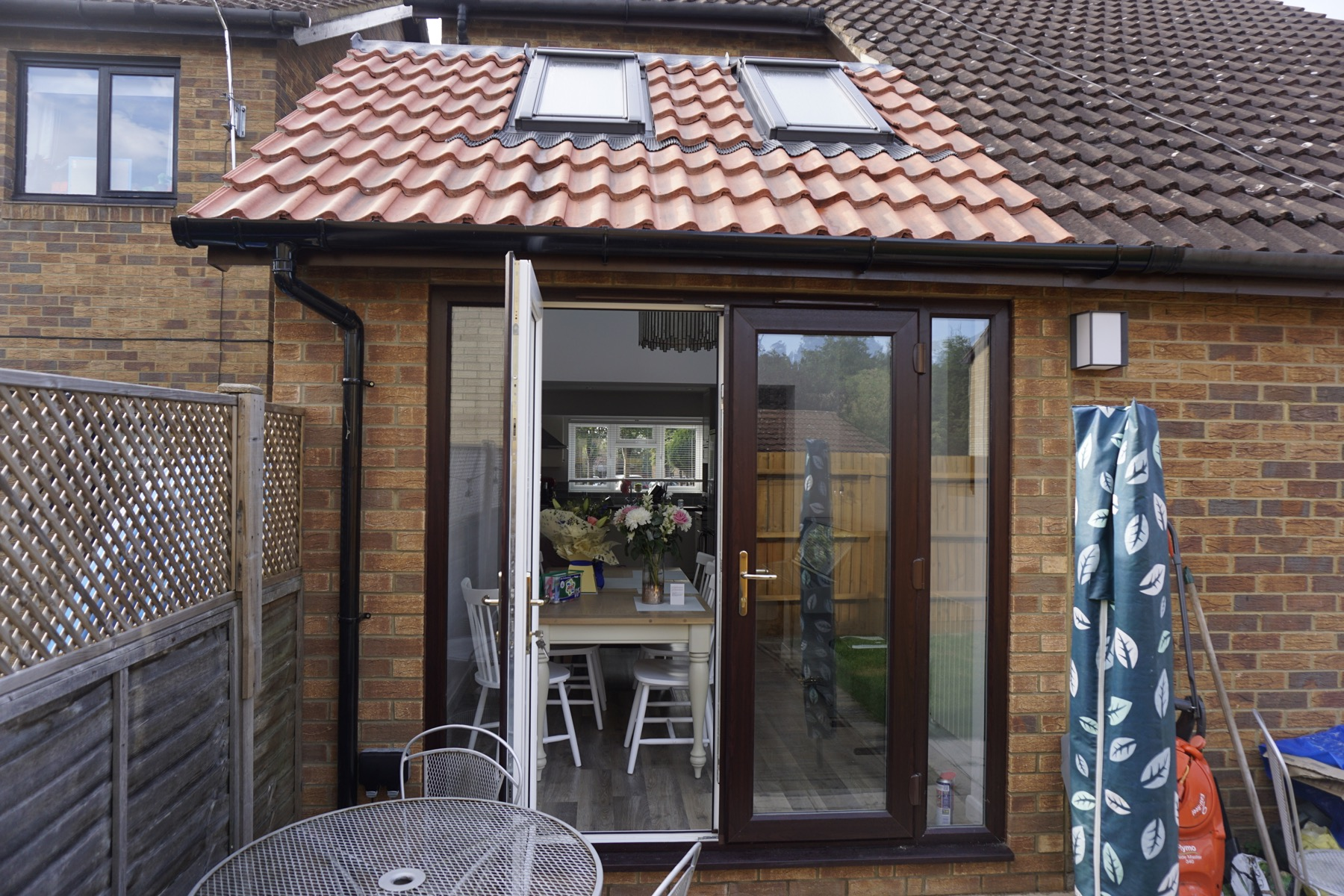 Back Home Extension & Garage Conversion