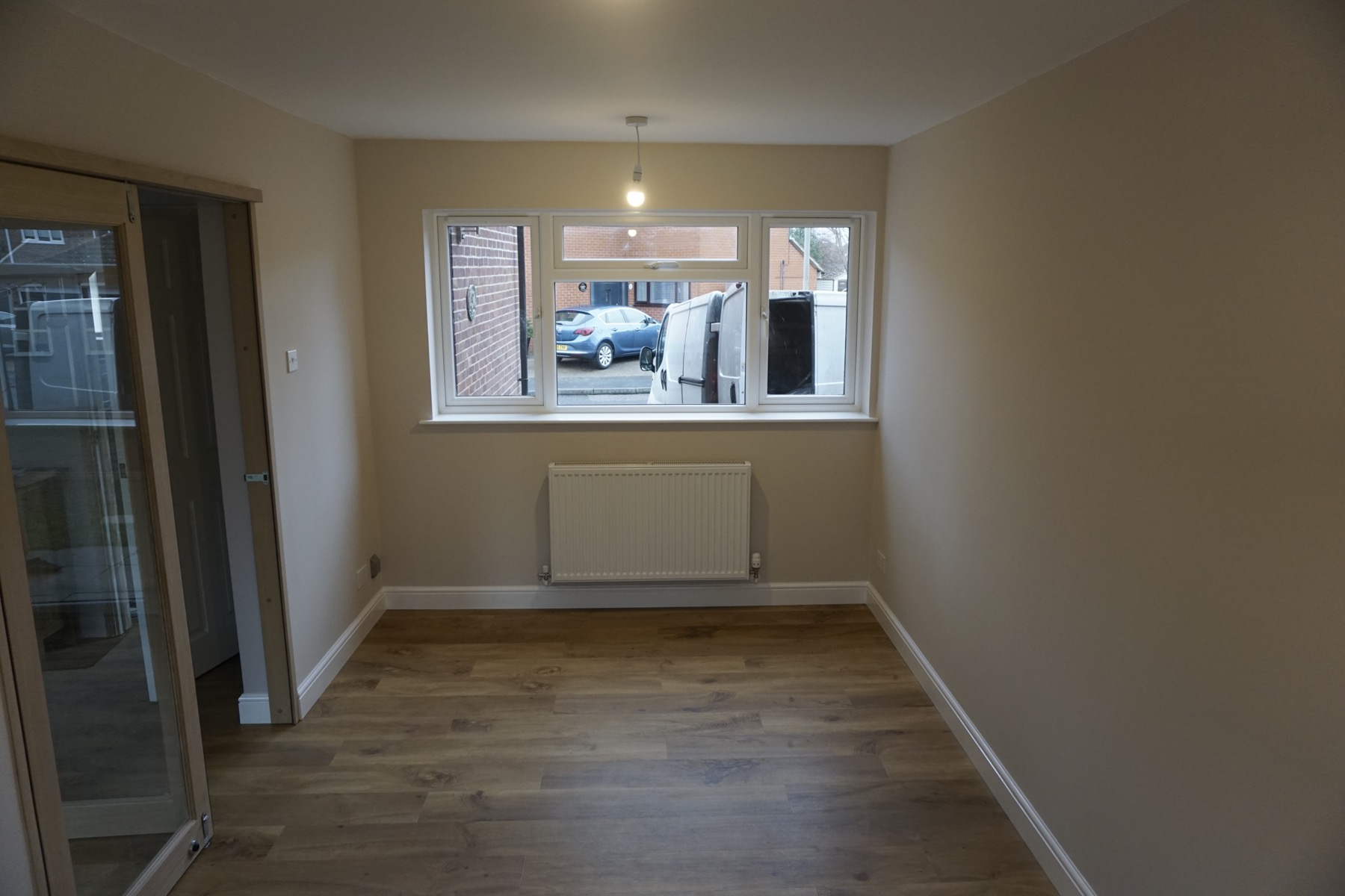 Garage Conversion in Newport Pagnell in MK